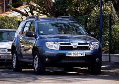 Dacia Duster przed liftingiem