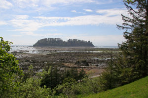 Cape Alava - Cape Alava and Ozette Island