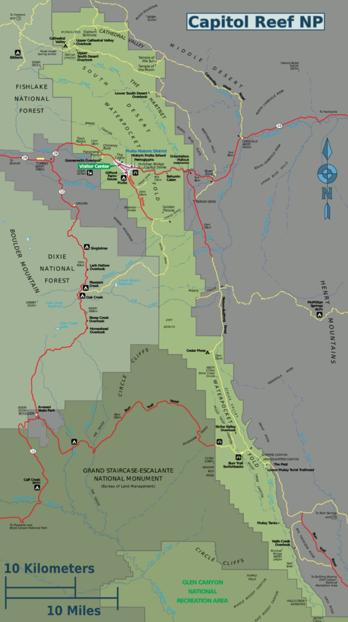 capitol reef national park � travel guide at wikivoyage