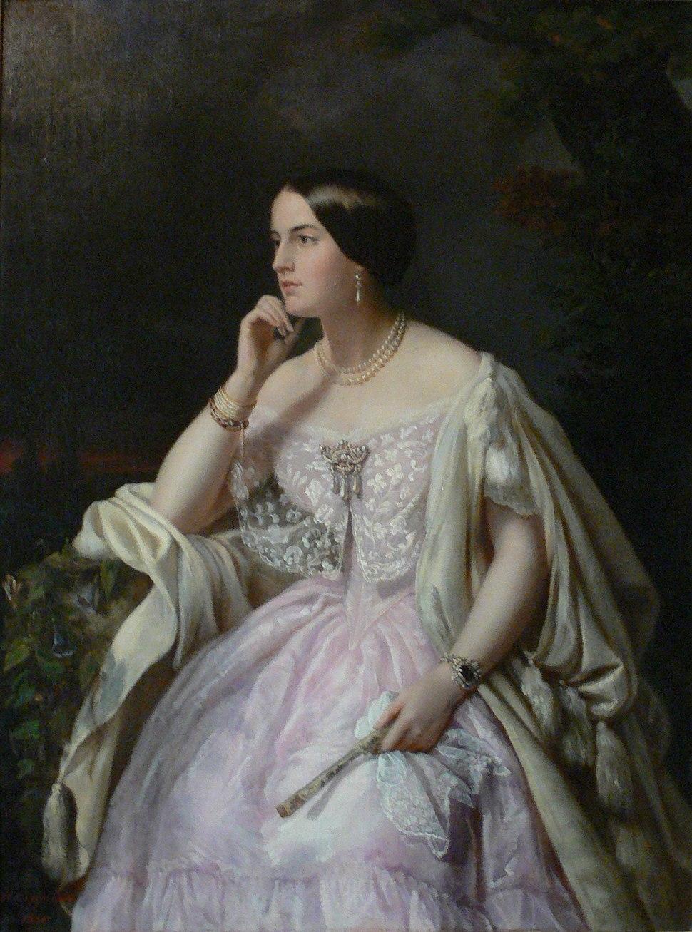 Cappelaere Portrait Miss Haryett Howard