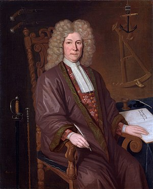 Robert Knox (sailor) - Robert Knox (P. Trampon, 1711)