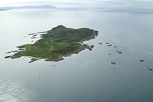Cara Island - Cara from the air