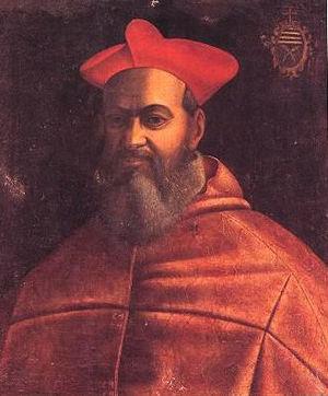 Scipione Rebiba - Image: Card REBIBA