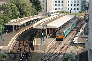 Cardiff Queen Street railway station railway station in Cardiff, Wales