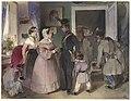 Carl Schindler, A Young Officer Saying Farewell to His Family, 1841, NGA 139259.jpg