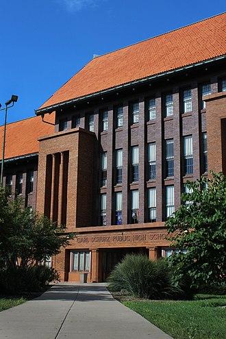 Carl Schurz High School - Image: Carl Schurz High School 02