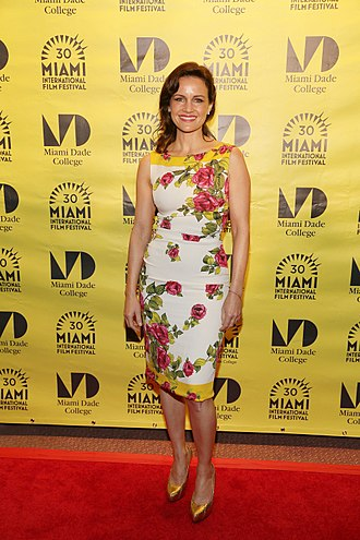 Carla Gugino - Gugino at the Miami International Film Festival in 2013
