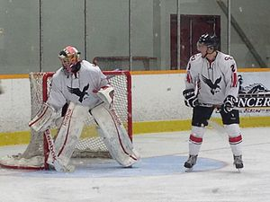 Carleton Ravens - Carleton during 2013-14 season vs. Windsor Lancers.