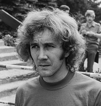 Carlos Babington - Carlos Babington at the Argentine training camp during the 1974 FIFA World Cup