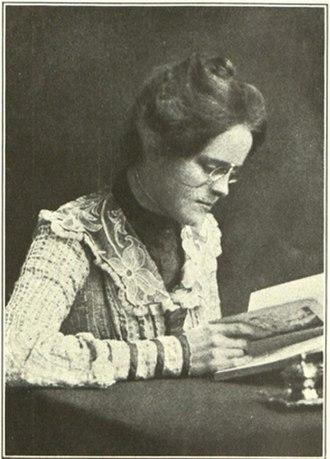 Caroline Ransom Williams - Bryn Mawr College Yearbook, 1908