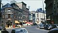 Carrefour des rues Saint-Jean, Couillard et cote de la Fabrique, 1947.jpg