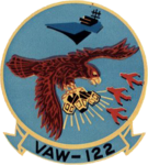 Carrier Airborne Early Warning Squadron 122 (US Navy) insignia c1973.png
