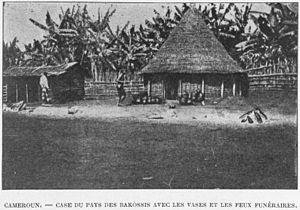 Bakossi people - Bakossi house in 1920