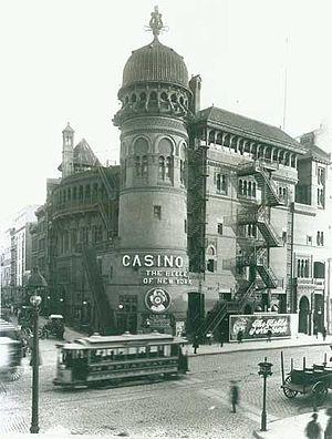 Sam Bernard - Image: Casino Theatre (1900)