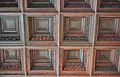 Cassetons del teginat de la sala de juntes del Gremi de Mestres Fusters, València.JPG