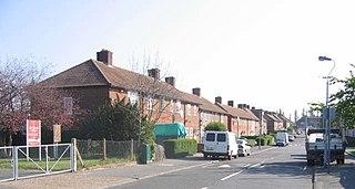 housing estate in Downham, south east London
