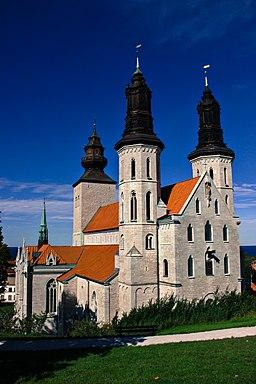 Visby domkirke, set fra øst
