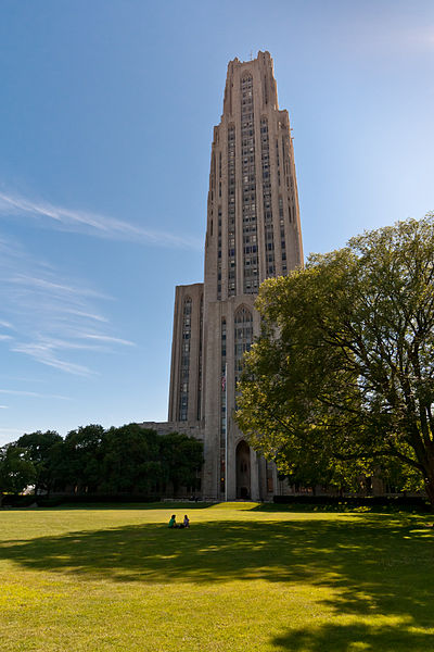 File:CathedralofLearningatPitt fromLawn.jpg