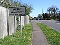 Cautionary sign in Main Road, Yapton - geograph.org.uk - 1245872.jpg