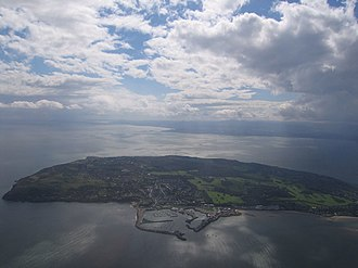 Howth Head - Aerial view of Howth Head looking south.
