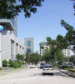 Cebu Business Park Skyline