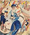 Cecil Howard - Scène de café (Gouache, 1915-17).jpg