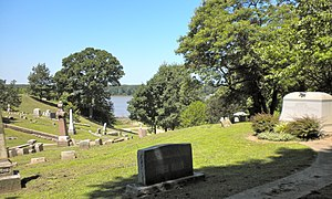 Woodland Cemetery (Quincy, Illinois) - Image: Cemetery Quincy IL