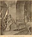 Cena amorosa entre D. Leonor Teles e o Conde Andeiro - História de Portugal, popular e ilustrada.png