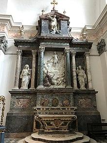 Cenotafio di Pio V nella Chiesa di Santa Croce a Bosco Marengo