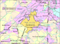 Census Bureau map of East Brunswick, New Jersey.png