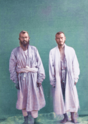 Central Asian Men's Clothing. Yaktakh, a Traditional, Light Cotton Robe WDL10762.png