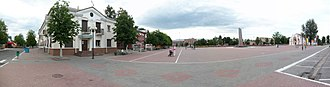 Zhlobin - Image: Central Square panoramio Arseny Khakhalin