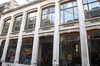 Belgian Comic Strip Center - Image: Centre Belge de la Bande Dessinée 30