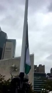 Archivo:Ceremony of the raising of the Flag of the State of Palestine.ogv