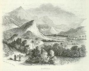 """Coffee production in Sri Lanka - Plate from Ceylon, Physical, Historical and Topographical, titled """"The Coffee Regions. Badulla"""""""
