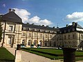 Château de Champlitte cour d'honneur.JPG