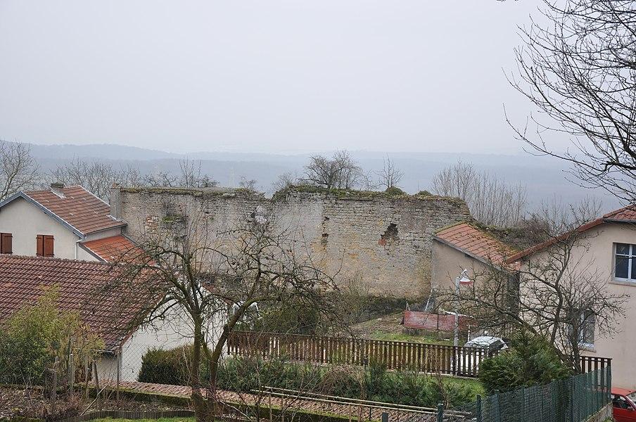 Château de Mousson, Mousson, Lorraine, France