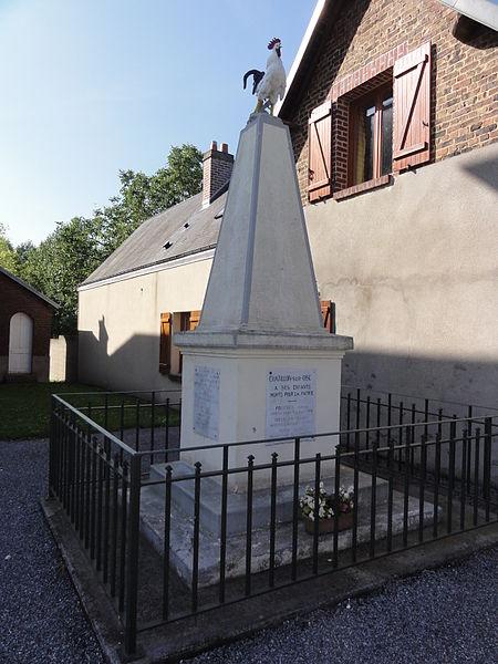 Châtillon-sur-Oise (Aisne) monument aux morts
