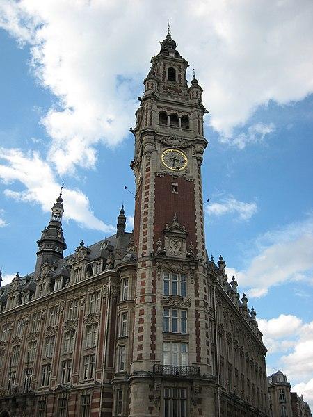 File chambre de commerce de lille jpg wikimedia commons for Chambre de commerce manicouagan