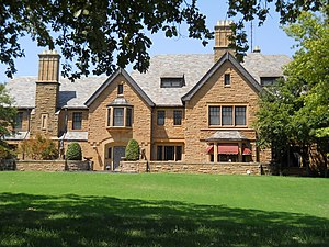 National Register of Historic Places listings in Garfield County, Oklahoma - Image: Champlin Mansion Enid