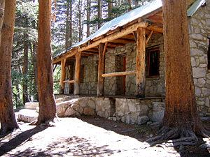 Big Pine Creek (California) - The historic landmark Lon Chaney—Paul Williams cabin on the North Fork Big Pine Creek.