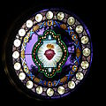 Chapel of the Sacred Heart (Grand Teton National Park, WY) - Sacred Heart rose window.jpg
