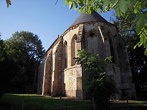 Jussy-le-Chaudrier - The Commandry of Jussy-le-Chaudrier, a Templar chapel