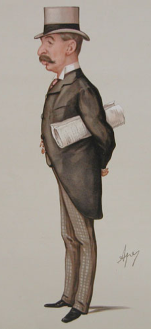 Charles Ritchie, 1st Baron Ritchie of Dundee - Caricature of Charles Thomson Ritchie by Carlo Pellegrini.