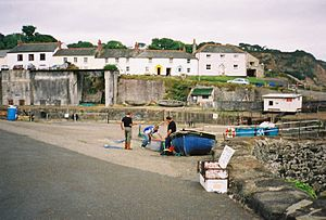 Charlestown, Cornwall - Image: Charlestown Harbour cottages fishermen St Austell Cornwall