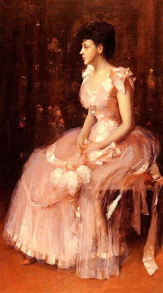 File:Chase William Merritt Portrait Of A Lady In Pink 1888.jpg