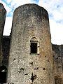 Chateau de Villandraut (33) - détail tour du pont-levis - PA00083861.jpg