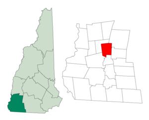 Sullivan, New Hampshire - Image: Cheshire Sullivan