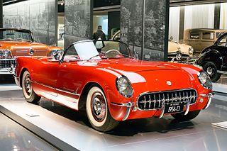 Chevrolet Corvette (C1) Motor vehicle