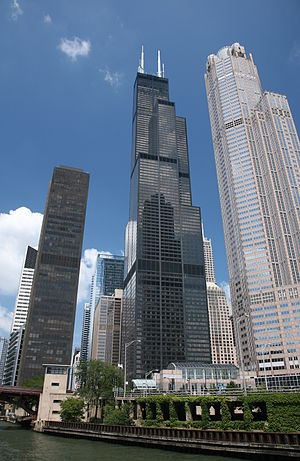 Deutsch: Willis Tower (damals noch Sears Tower...